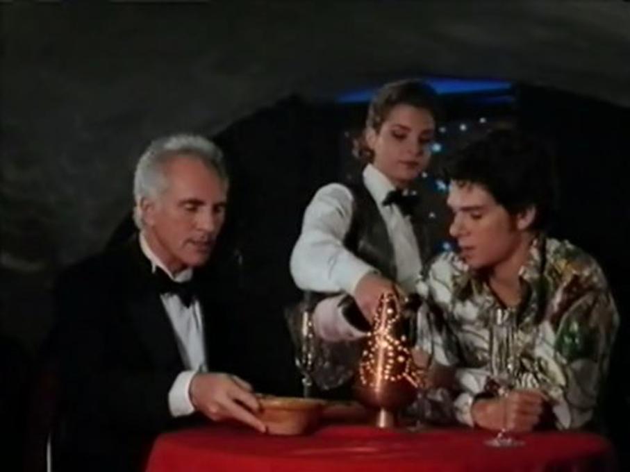 Terence Stamp and Ishai Golan in Mindbender (1996)