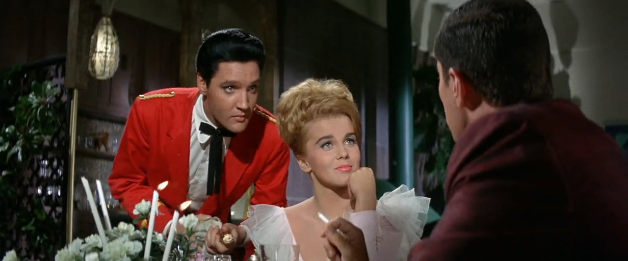 Elvis Presley, Ann-Margret, and Cesare Danova in Viva Las Vegas (1964)