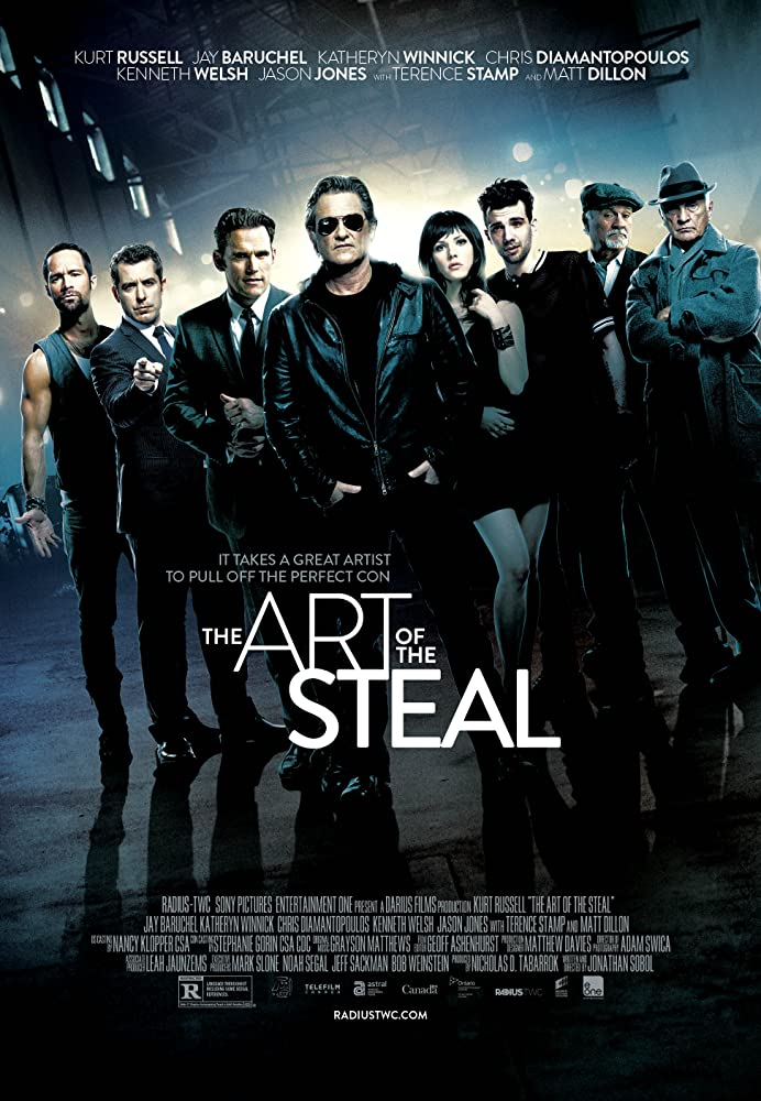 The Art of the Steal 2013 Dual Audio 720p HEVC BRRip x264 [Hindi English]