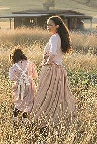 Thandiwe Newton and Jasmyn Rae in Westworld (2016)