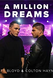 Matt Bloyd & Colton Haynes: A Million Dreams Poster