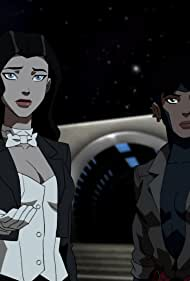Lacey Chabert and kittie KaBoom in Young Justice (2010)