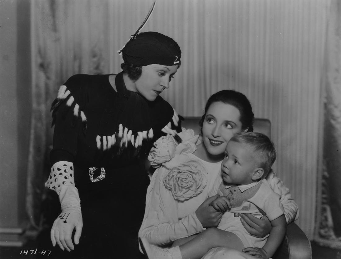 Baby LeRoy, Alice Brady, and Dorothea Wieck in Miss Fane's Baby Is Stolen (1934)