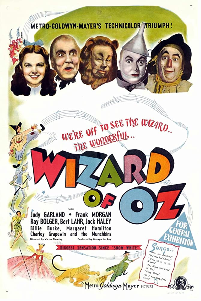 The Wizard of Oz (1939) Film Poster