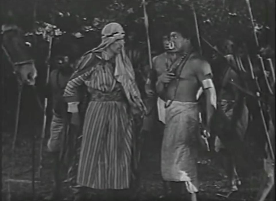Boris Karloff and Floyd Shackelford in King of the Wild (1931)
