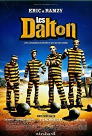 Lucky Luke and the Daltons Poster