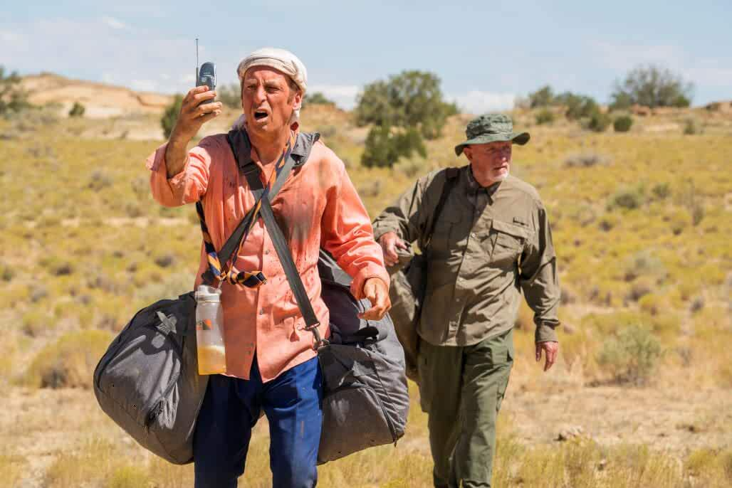Jonathan Banks and Bob Odenkirk in Better Call Saul (2015)