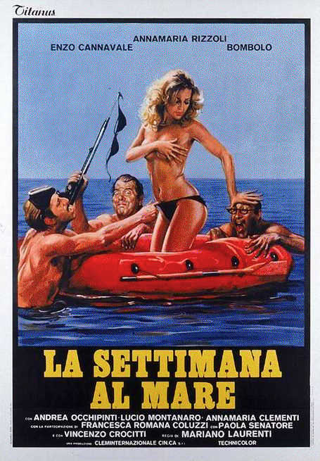 18+ La settimana al mare 1981 Italian SD HDRip 280MB Download