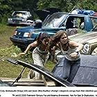 Emmanuelle Chriqui and Eliza Dushku in Wrong Turn (2003)
