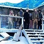 Steve Buscemi, Mary Anne McGarry, Daniel Radcliffe, Tammy Dahlstrom, Lamont Thompson, Erin Darke, Karan Soni, and River Drosche in Oregon Trail: Stranded (2021)