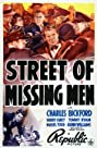 Street of Missing Men (1939) Poster