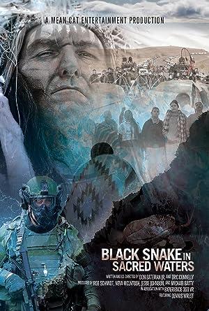Black Snake in Sacred Waters