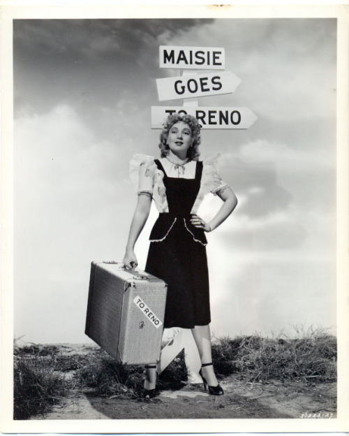 Ann Sothern in Maisie Goes to Reno (1944)