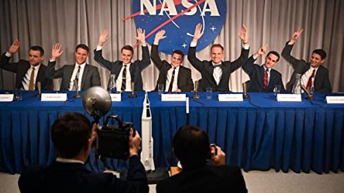 """This original scripted series—an adaptation of Tom Wolfe's bestseller—recounts the historic U.S. Space Race. It takes a clear-eyed look at what would become America's first """"reality show,"""" as ambitious astronauts and their families become instant celebrities in a competition that could kill them or make them immortal."""