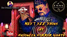 The Orlando Wizard at Halloween Horror Nights 29 Show Review Universal Studios Florida