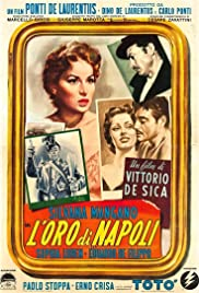 The Gold of Naples (1954) Poster - Movie Forum, Cast, Reviews