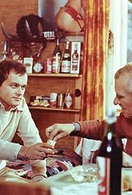 Adam Ferency and Janusz Paluszkiewicz in Koty to dranie (1978)