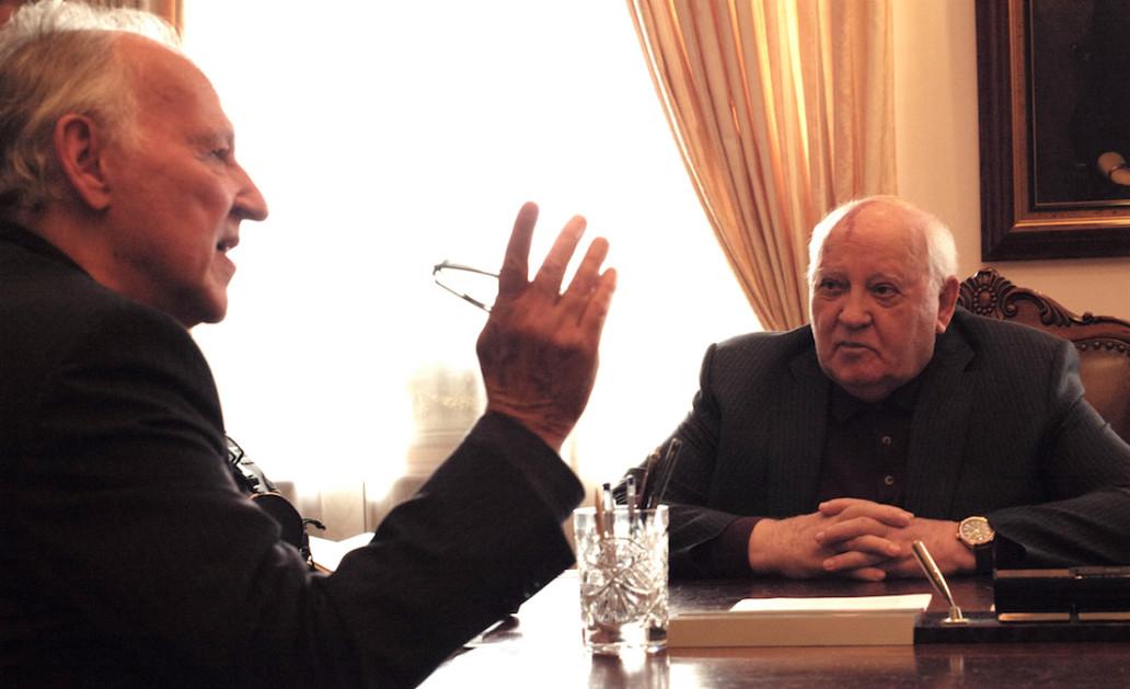 Werner Herzog in Meeting Gorbachev (2018)
