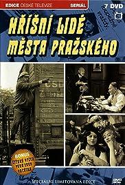 Hrísní lidé mesta prazského Poster