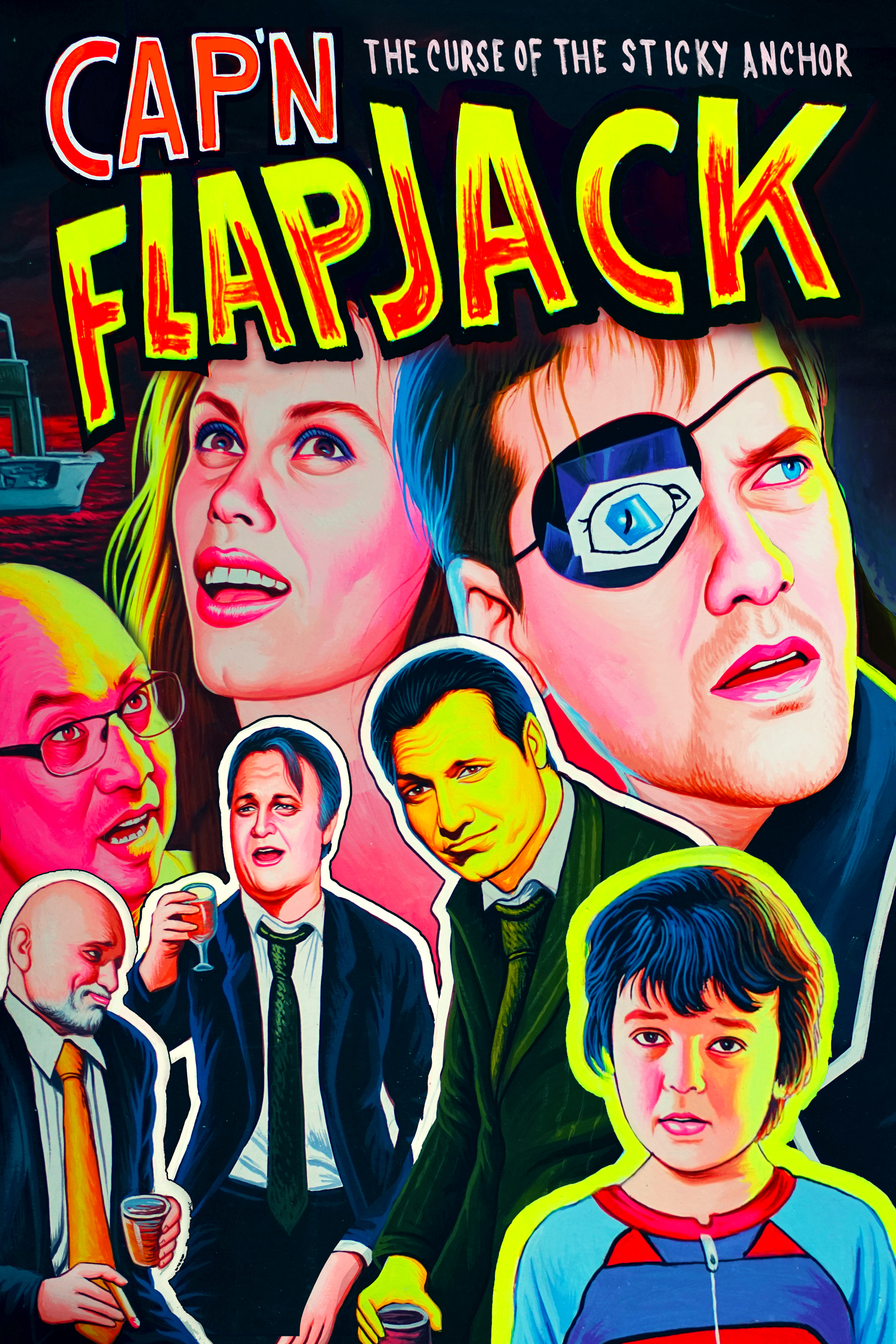 Cap N Flapjack The Curse Of The Sticky Anchor 2016 Imdb