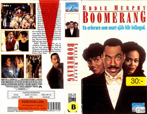 Eddie Murphy, Halle Berry, and Robin Givens in Boomerang (1992)