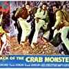 Richard Garland and Russell Johnson in Attack of the Crab Monsters (1957)
