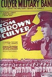 Tom Brown of Culver Poster