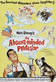 The Absent Minded Professor Poster