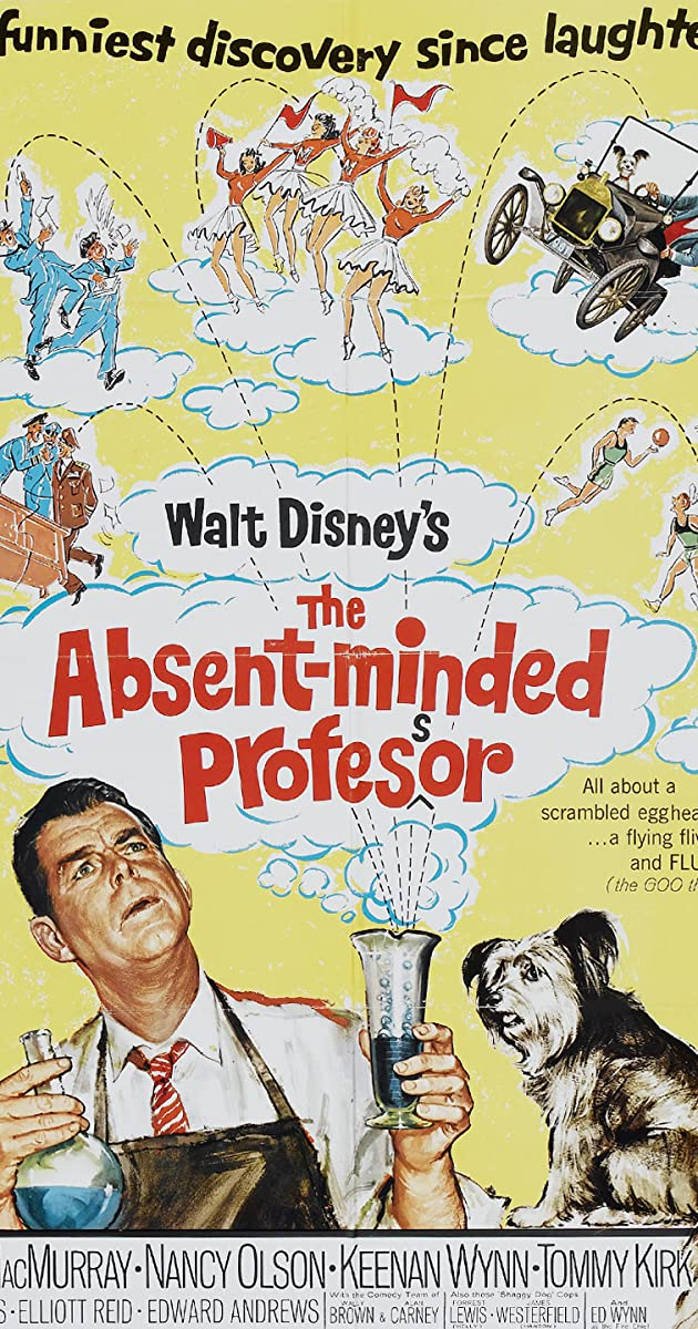 Subtitle of The Absent Minded Professor