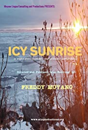Icy Sunrise Poster