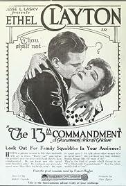 The Thirteenth Commandment Poster