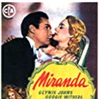 Glynis Johns and Griffith Jones in Miranda (1948)