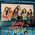 Anh Hong, Le Huynh My Duyen, Thanh Hang, Hoàng Oanh, Uyen My, Tuyen Map, Jun Vu, Tu Quynh Khong, Minh Thao, and Hoang Yen Chibi in Thang Nam Ruc Ro (2018)