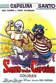 Santo vs. Capulina Poster