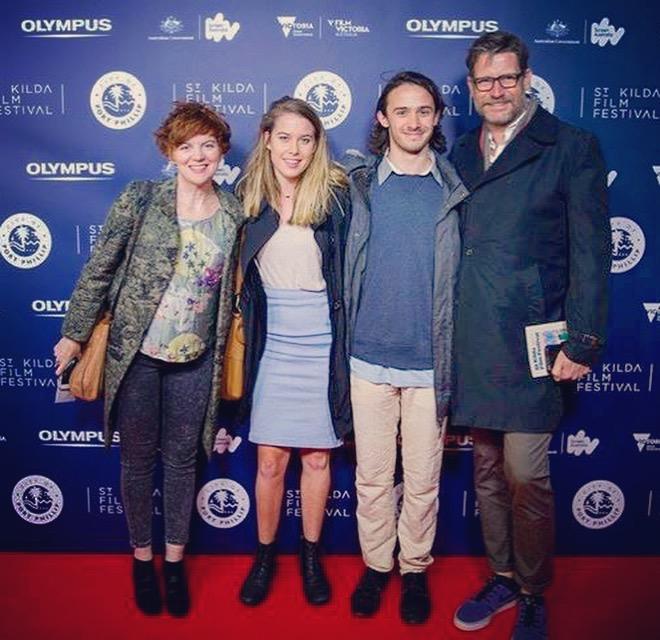 St Kilda Film Festival, 2016 Sofya Gollan, Bridie McKim, Christian Byers, Morgan Smallbone