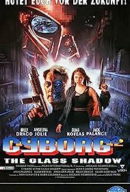 Angelina Jolie and Jack Palance in Cyborg 2: Glass Shadow (1993)