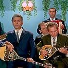 Tasos Ramsis, Nikos Xanthopoulos, and Alekos Zartaloudis in Zousa monahos, horis agapi (1971)