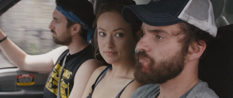 Ti West, Olivia Wilde and Jake Johnson in 'Drinking Buddies'