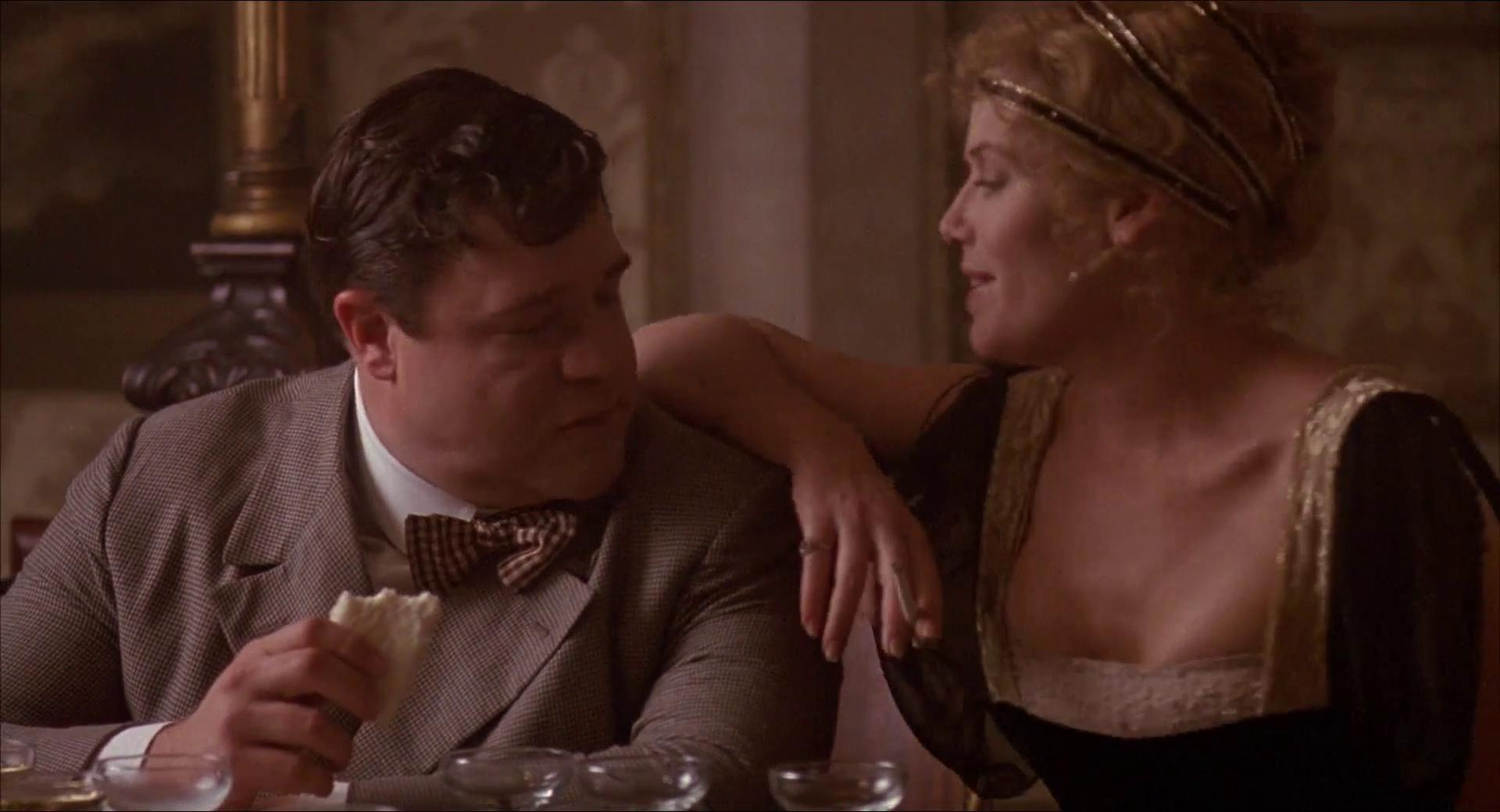 John Goodman and Kelly McGillis in The Babe (1992)