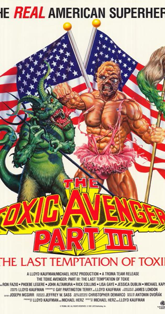 citizen toxie the toxic avenger iv watch online