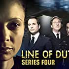 Adrian Dunbar, Vicky McClure, Thandiwe Newton, and Martin Compston in Line of Duty (2012)