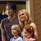 Anna Paquin, Stephen Moyer, Alec Gray, and Laurel Weber in True Blood (2008)