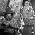 Dick Botiller and Tina Menard in The Cheyenne Tornado (1935)
