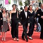 Kamel Abdelli, Richard Chevallier, Héloïse Godet, Christian Gregori, Jessica Erickson, and Zoé Bruneau at an event for Adieu au langage (2014)