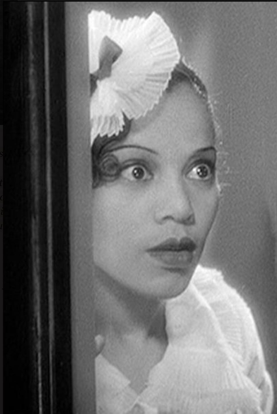 Mildred Washington in Torch Singer (1933)