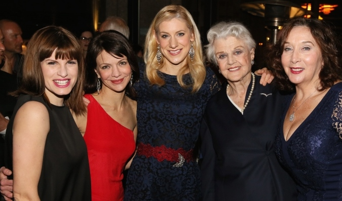 Blithe Spirit opening night at Ahmanson Theater, Los Angeles