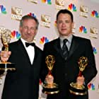 Tom Hanks and Steven Spielberg at an event for The 54th Annual Primetime Emmy Awards (2002)