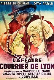 L'affaire du courrier de Lyon Poster
