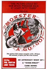 Monster a Go-Go Poster