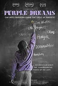 Kathryn Bostic, Robin Grey, John Disher Jr., and Joanne Hock in Purple Dreams (2017)